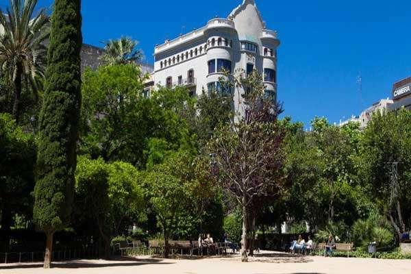 Jardines Palau Robert obra nueva Barcelona Eixample