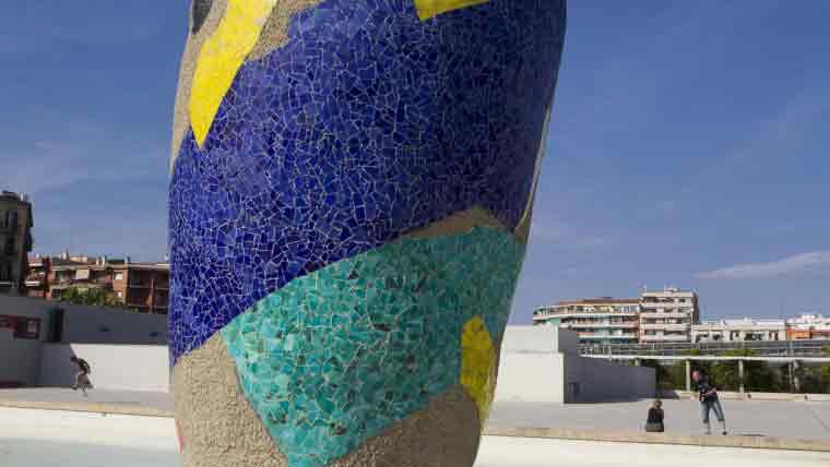 Atico en Barcelona Atico en venta Vallespir Parque Joan Miró