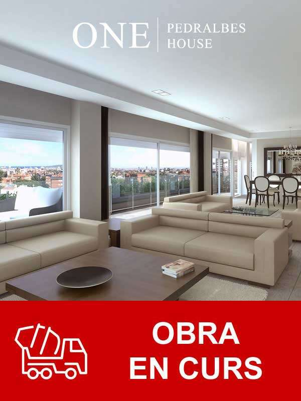 Obra nueva Barcelona pedralbes CASA Barcelona one pedralbes house home 2