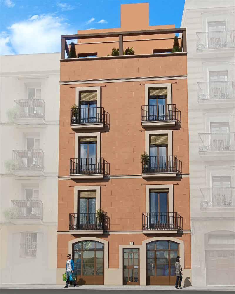 Modern Apartments Barcelona: NEW APARTMENTS FOR SALE IN GRACIA Barcelona