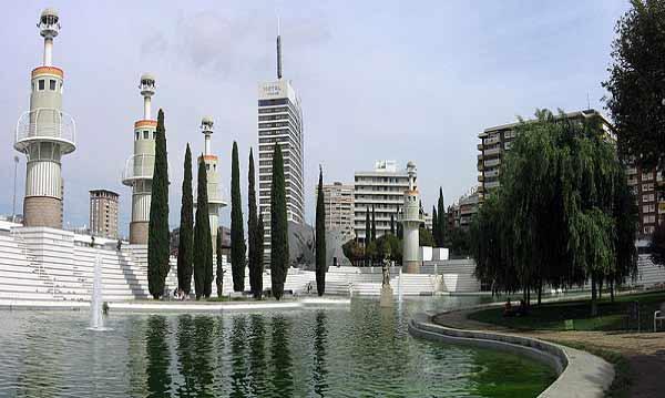 Park close to plaza España penthouse barcelona les corts
