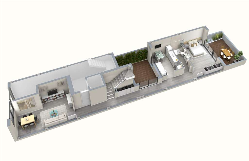 apartments for sale in eixample barcelona plan duplex