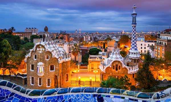 picture of park Guell apartments for sale in gracia barcelona