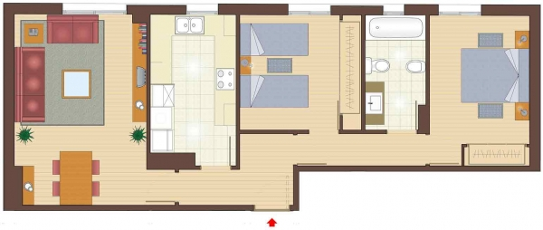 plan of 2 bedroom apartments for sale in la garriga nice property for sale