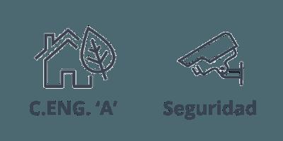 Calificación energética A y seguridad del ático en Barcelona, de la calle Neptú